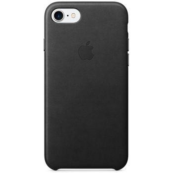 Apple kožený kryt pro iPhone 7, černý