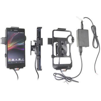 Brodit držák do auta na Sony Xperia Z bez pouzdra, se skrytým nabíjením