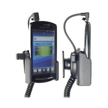 Brodit držák do auta na Sony Ericsson Xperia neo/neo V bez pouzdra, s nabíjením z cig. zapalovače