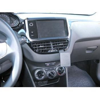 Brodit ProClip montážní konzole pro Peugeot 208 12-16,Peugeot 2008 14-16, střed. tunel