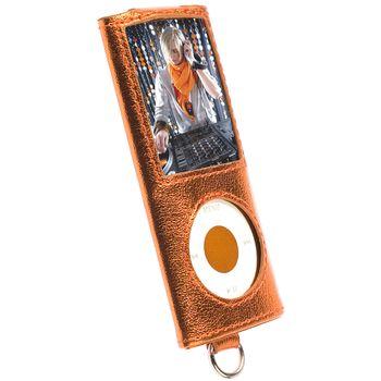 Krusell pouzdro Encore - Apple iPod Nano 4G - oranžová