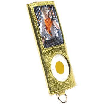 Krusell pouzdro Encore - Apple iPod Nano 4G - žlutá