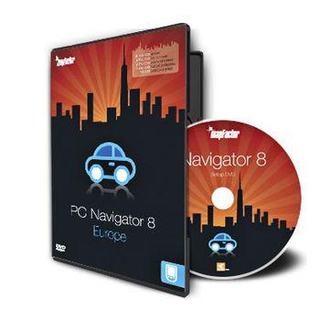 MapFactor PC Navigator 8 - Evropa
