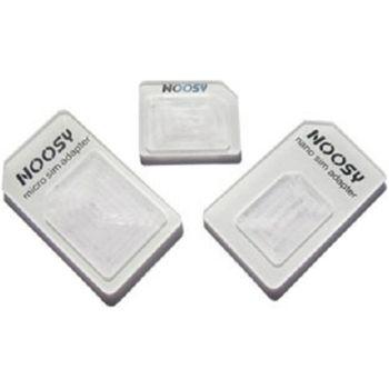 Adaptér pro NanoSIM karty + MicroSIM adaptér ZDARMA - Apple iPhone 5 - černý