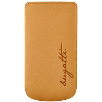 Bugatti Perfect Velvety leather case pro Samsung Galaxy S III (i9300) - medové