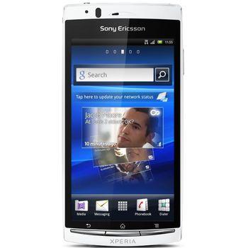 Sony Ericsson Xperia arc S - bílá