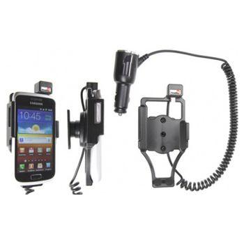 Brodit držák do auta na Samsung Galaxy W i8150 bez pouzdra, s nabíjením z cig. zapalovače
