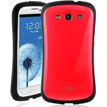 iOttie Macaron - ochranné pouzdro pro Samsung Galaxy SIII červené
