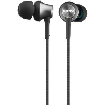 SONY sluchátka MDR-EX450H, černá