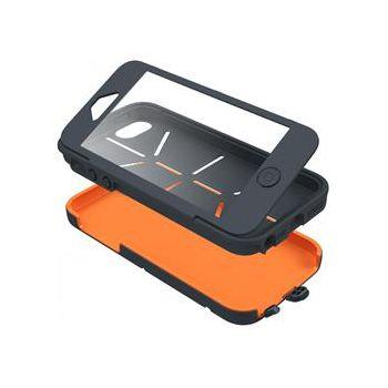 Cygnett Workmate Utility pouzdro pro iPhone 5/5S, šedá/oranžová