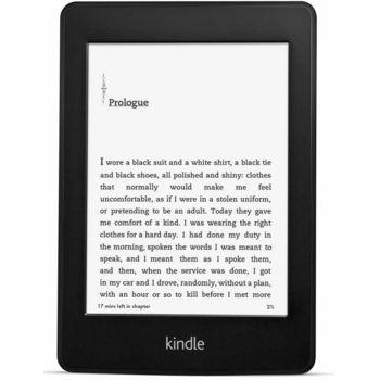 Amazon Kindle Paperwhite 2, s podsvícením, Wi-Fi, sponzorovaná - rozbaleno, záruka 24 měsíců