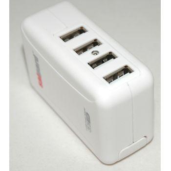 MaxiUSB nabíječka 4x USB + 4 adaptéry do zásuvky