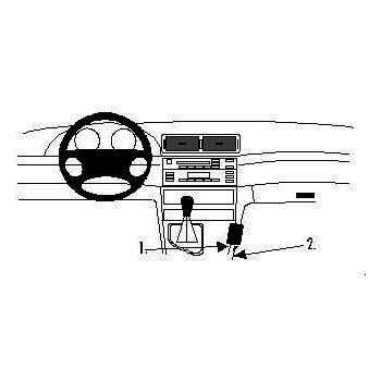 Brodit ProClip montážní konzole pro BMW 316-330/M3 E46 99-05, na středový tunel
