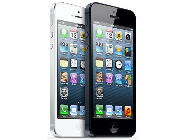 obsah balení iPhone 5 32GB černý + Tivizen HDTV tuner