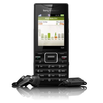 Sony Ericsson J10i2 ELM Metal Black - rozbaleno