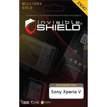 invisibleSHIELD pro Sony Xperia V - display