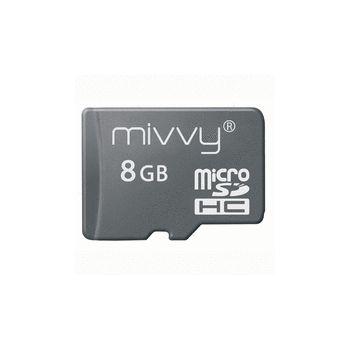 Mivvy microSDHC 8GB class 6 paměťová karta
