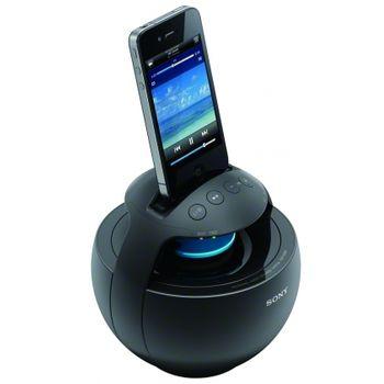 Sony přenosný dockovací reproduktor RDP-V20IP - černá