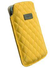 Krusell pouzdro Avenyn L Long - iPhone 5, Sony Xperia P/J (žlutá)