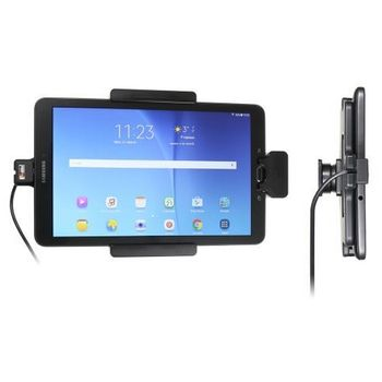 Brodit držák do auta na Samsung Galaxy Tab E 9.6 bez pouzdra, se skrytým nabíjením, s pruž.jištěním