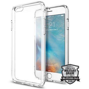 Spigen tenký kryt Ultra Hybrid pro iPhone 6S, transparentní