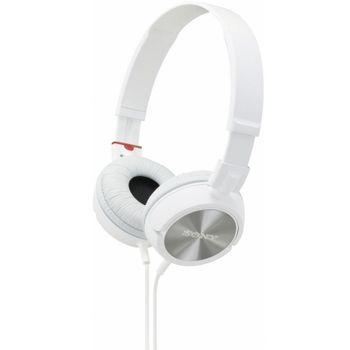 Sony sluchátka MDR-ZX300 bílá