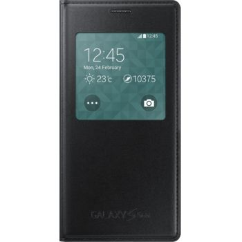 Samsung flipové pouzdro S-View EF-CG800BB pro Galaxy S5 mini, černé