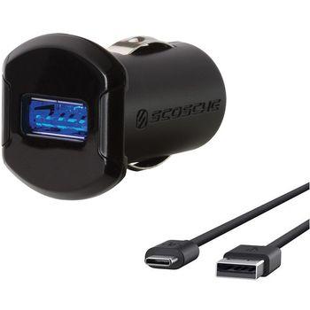 Scosche autonabíječka s USB-C kabelem