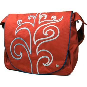 """Krusell Radical Messenger taška na notebook - do 16"""" - červená"""