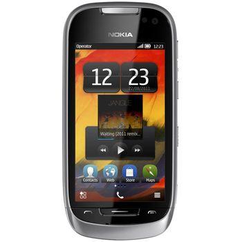 Nokia 701 Light Silver