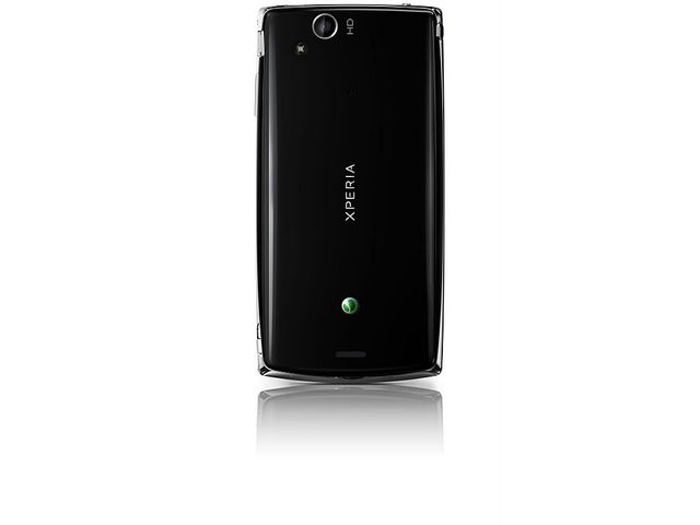 obsah balení Sony Ericsson Xperia arc S černý + originální náhradní baterie Sony Ericsson