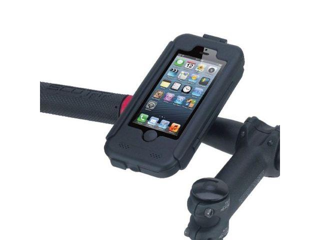 obsah balení Voděodolný držák na motorku na iPhone 5 s adaptérem pro RAM