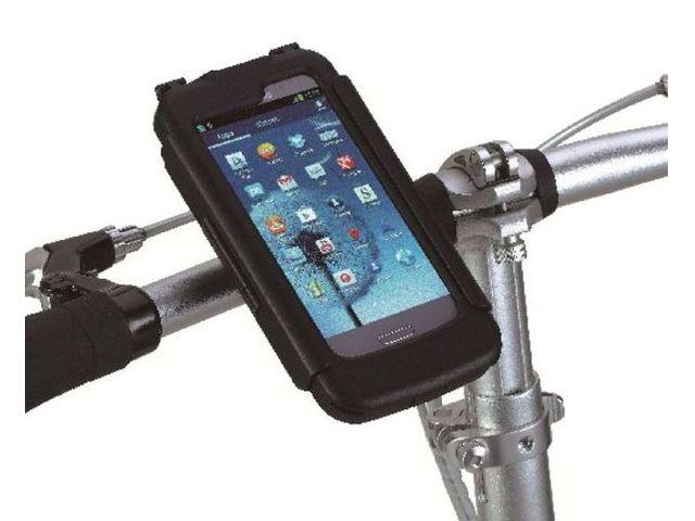 obsah balení Držák BikeConsole pro Samsung Galaxy S III  na kolo nebo motorku na řídítka pro uchycení telefonu + Smartmaps cykloturisticky atlas 1:40tis