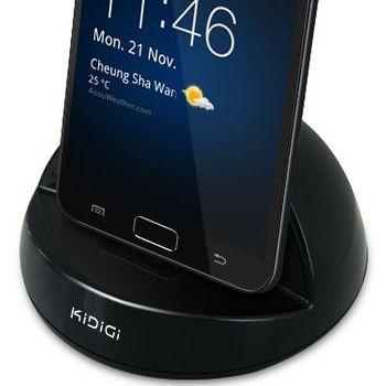Kidigi dobíjecí a synchronizační kolébka pro Samsung Galaxy Note - rozbaleno