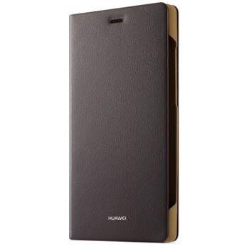 Huawei kožené ochranné pouzdro pro Huawei P8, hnědé, eko-balení