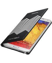 Samsung flipové pouzdro s kapsou Nicolas Kirkwood EF-EN900BB pro Galaxy Note 3, černo bílé