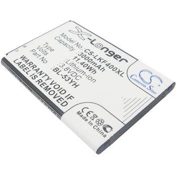 Baterie pro LG G3 3000mAh, Li-ion + univerzální nabíječka baterií