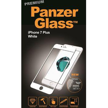PanzerGlass ochranné premium sklo pro Apple iPhone 7 plus, bílá