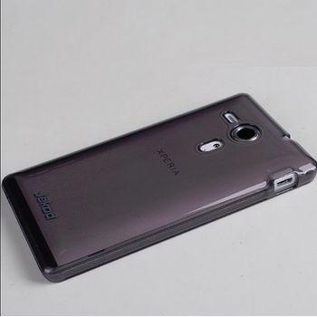 Jekod TPU silikonový kryt Sony Xperia P, černá