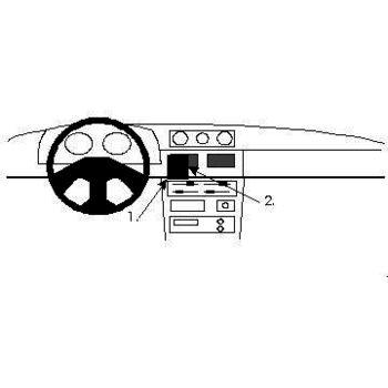 Brodit ProClip montážní konzole pro Daihatsu Rocky 90-01, na střed