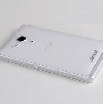 Jekod TPU silikonový kryt Sony Xperia Z, bílá