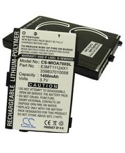 Baterie pro Mitac Mio A710, A701, A700, Li-ion 3,7V 1450mAh