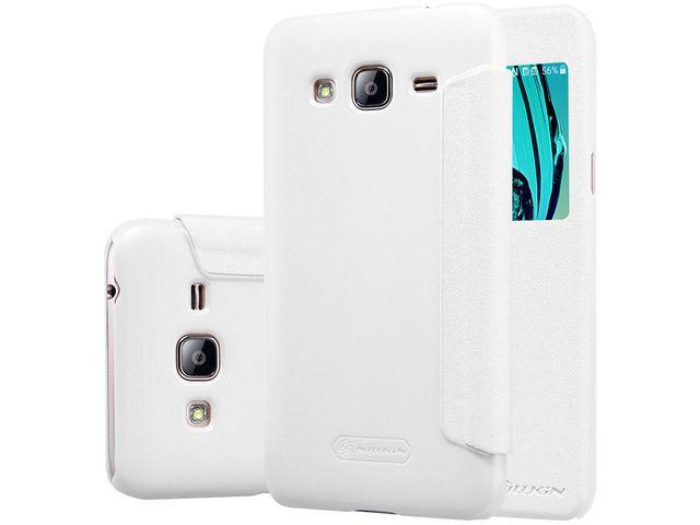 obsah balení Nillkin flipové pouzdro Sparkle S-View pro Samsung Galaxy J5 (2016), bílé