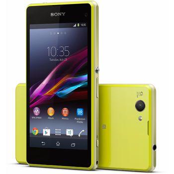 Sony Xperia Z1 compact, žlutá