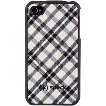 Speck pouzdro Fitted Case pro iPhone 4S/4 - černá/bílá