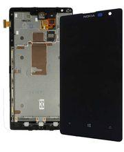 LCD Display + Dotyková Deska pro Nokia Lumia 1520 černá
