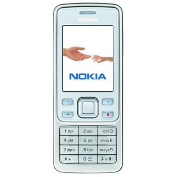 NOKIA 6300 White 512MB + náhradní baterie 750mAh