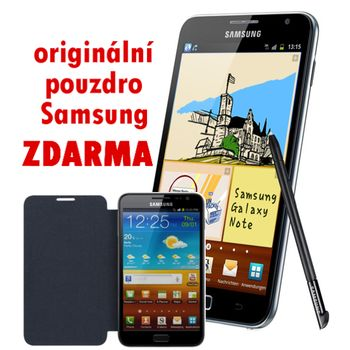 Samsung Galaxy Note N7000 + pouzdro Samsung