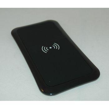 Bezdrátová nabíjecí stanice, QI standard, černá