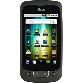 LG P500 Optimus One černý